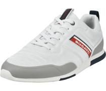 Sneaker, low, Textil, Kontraststreifen,