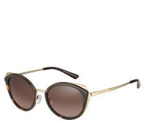 "Sonnenbrille ""MK1029 116813"", Filterkategorie 3, Havana, Schmetterling"
