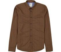 Freizeithemd, Fine Cotton, Allover-Muster,