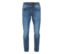 Jeans, 7/8-Länge, Waschung, Swing Pocket,