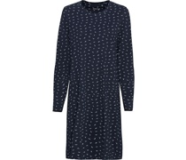 Sleepshirt, Allover-Print, Baumwolle,