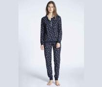Pyjama mit Bündchen Cosy Pleasure