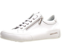 Sneaker, uni, Reißverschluss,