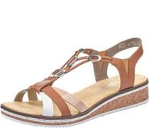Sandale, Keilabsatz,