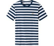 Georg T-Shirt, Rundhalsausschnitt, Streifen,
