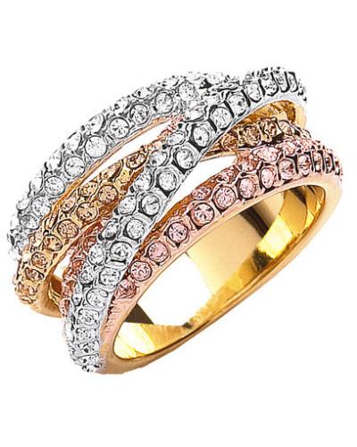 Ring, vergoldet