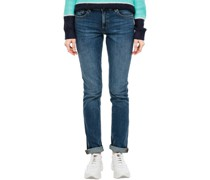 Jeans 1/1, Slim Fit, Waschung,