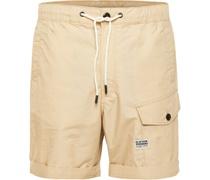 Baumwoll-Shorts, Cargo-Optik, Tunnelzug,