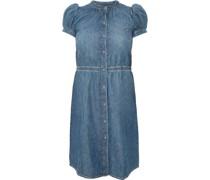 Jeans-Kleid, Knopfverschluss,