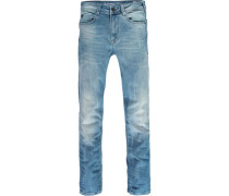 Jeans, uni, 5-Pocket,