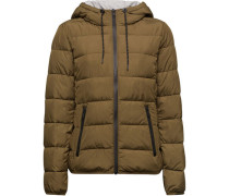 Steppjacke, unifarben,