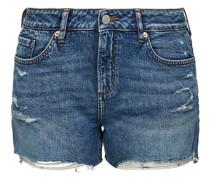 Jeansshorts, moderne Waschung,