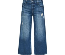 Jeans, Regular Fit, 7/8 Länge, ausgestellt,