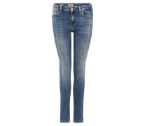 "Jeans ""Nicole"", Slim Fit, unifarben,"