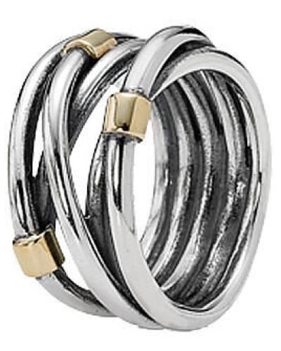 """Verschlungener Ring """"190383"""", 925er"""