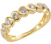 Ring 375/- gold Zirkonia