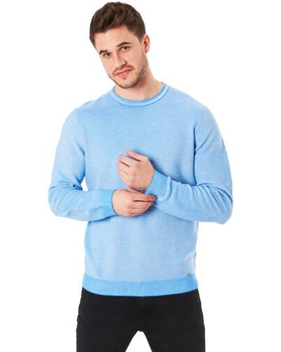 Pullover, Baumwolle, meliert,