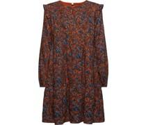 Kleid, Volants, Baumwolle,