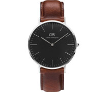 "Armbanduhr Classic Black St Mewes ""DW00100130"""