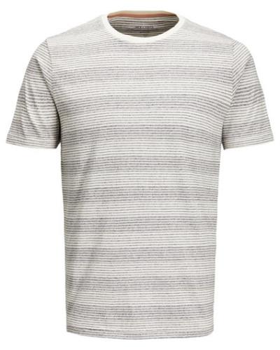 T-Shirt Rundhals gestreift M
