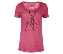 """T-Shirt """"K20 Ella"""", Hirschmotiv, Pailletten"""