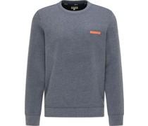 Sweaterelangeogo, Rundhals,