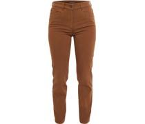 Tina Jeans, Straight Fit, uni, hoher Bund,