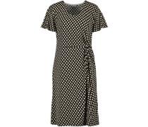 Kleid, drapiert, Kurzarm,