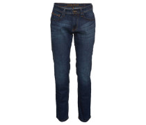 "Jeans ""Houston"", straight fit, mittlere Leibhöhe, 5-Pocket-Design,"
