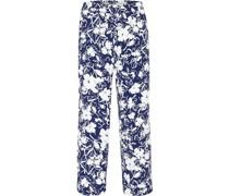 """Stoffhose """"Jogg"""", Comfort Fit, floraler Print, Kordelzug,"""