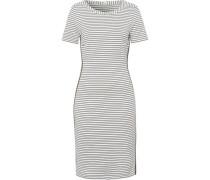 Jersey-Kleid, rückwärtiger Reißverschluss,