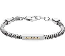 "Armband ""Steel DX1238040"", Edelstahl"