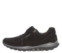 Sneaker, Veloursleder, Reißverschluss-Detail, Rolling Soft,
