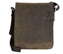 Richmond Messenger Leder 22 cm, dark brown