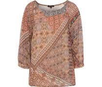 Bluse, 3/4-Arm, orientalisches Muster,
