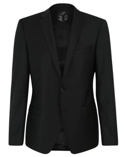 Sakko als Anzug-Baukasten-Artikel, Slim Fit, Reverskragen