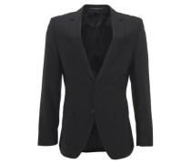 Anzug-Sakko, Slim fit, tailliert, 2-Knopf-Verschluss, Viskose-Mix,