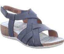 "Sandaletten ""Natalya 16"", Klettverschluss, Keilabsatz,"