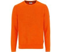 Pullover, Rundhals-Ausschnitt, Baumwoll,