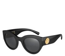 "Sonnenbrille ""VE4353 GB1/87"", Filterkategorie 3, Applikation, Schmetterlingsform"
