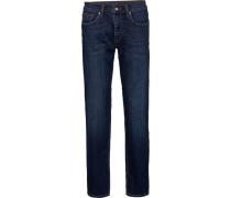 Jeans, 5-Pocket, Regular Fit, leichte Waschung,