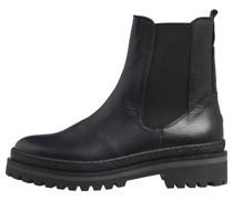 Chelsea Boots, uni, Elastikeinsatz, Blockabsatz,
