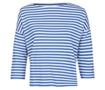 Modisches Shirt mit versetztem Ärmelansatz