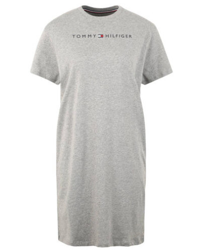 Nachthemd Jersey Rundhalsausschnitt