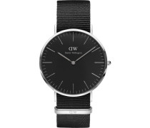 "Armbanduhr Classic Black Cornwall ""DW00100149"""