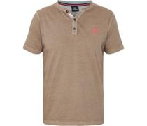 """T-Shirt """"Serafino"""", Henley-Ausschnitt, feingestreift,"""