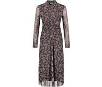 Kleid, gerafft,