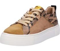 Sneaker, Plateau, Schlangen-Printeder,