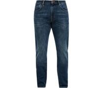 Jeans, 5-Pocket, Waschung, Slim Fit,