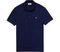 Poloshirt, uniogo-Stitching, Slim Fit,